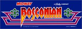 Arcade Cabinet Marquee for Bosconian.