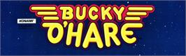 Arcade Cabinet Marquee for Bucky O'Hare.