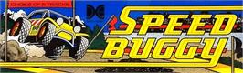 Arcade Cabinet Marquee for Buggy Boy Junior/Speed Buggy.