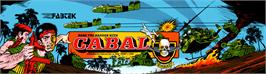 Arcade Cabinet Marquee for Cabal.