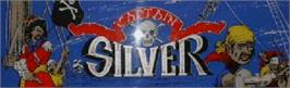 Arcade Cabinet Marquee for Captain Silver.