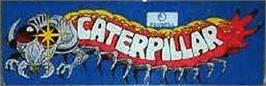 Arcade Cabinet Marquee for Caterpillar.
