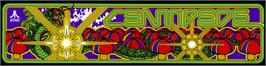 Arcade Cabinet Marquee for Centipede.
