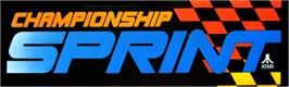 Arcade Cabinet Marquee for Championship Sprint.