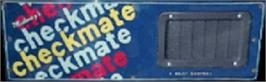 Arcade Cabinet Marquee for Checkmate.