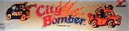Arcade Cabinet Marquee for City Bomber.
