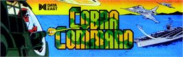 Arcade Cabinet Marquee for Cobra-Command.