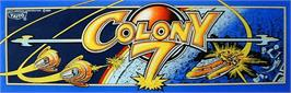 Arcade Cabinet Marquee for Colony 7.