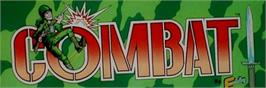 Arcade Cabinet Marquee for Combat.