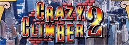 Arcade Cabinet Marquee for Crazy Climber 2.