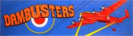 Arcade Cabinet Marquee for Dambusters.