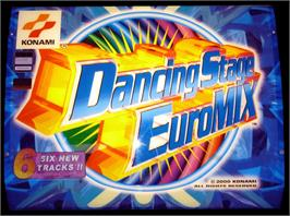 Arcade Cabinet Marquee for Dancing Stage Euro Mix.