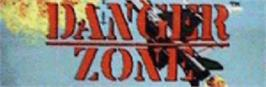 Arcade Cabinet Marquee for Danger Zone.