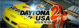 Arcade Cabinet Marquee for Daytona USA 2.