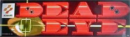 Arcade Cabinet Marquee for Dead Eye.