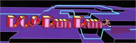 Arcade Cabinet Marquee for Do! Run Run.