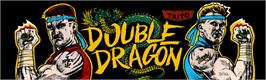 Arcade Cabinet Marquee for Double Dragon.