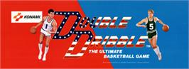 Arcade Cabinet Marquee for Double Dribble.