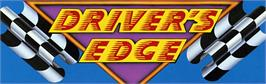 Arcade Cabinet Marquee for Driver's Edge.
