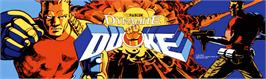 Arcade Cabinet Marquee for Dynamite Duke.