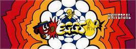 Arcade Cabinet Marquee for Eggs.