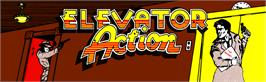 Arcade Cabinet Marquee for Elevator Action.