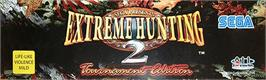 Arcade Cabinet Marquee for Extreme Hunting 2.
