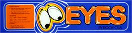 Arcade Cabinet Marquee for Eyes.
