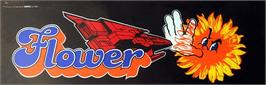 Arcade Cabinet Marquee for Flower.