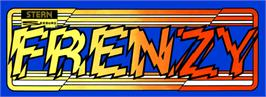 Arcade Cabinet Marquee for Frenzy.