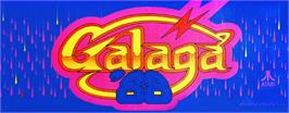 Arcade Cabinet Marquee for Galaga '88.