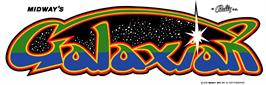 Arcade Cabinet Marquee for Galaxian Part X.