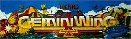 Arcade Cabinet Marquee for Gemini Wing.