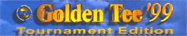 Arcade Cabinet Marquee for Golden Tee '99 Tournament.