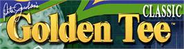 Arcade Cabinet Marquee for Golden Tee Classic.