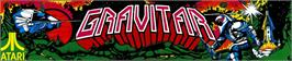 Arcade Cabinet Marquee for Gravitar.