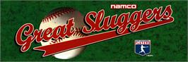 Arcade Cabinet Marquee for Great Sluggers '94.