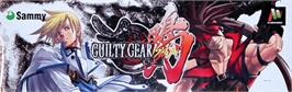 Arcade Cabinet Marquee for Guilty Gear Isuka.