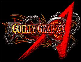 Arcade Cabinet Marquee for Guilty Gear XX.