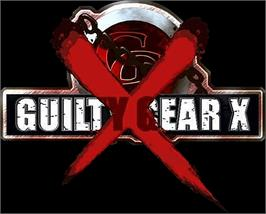 Arcade Cabinet Marquee for Guilty Gear X.