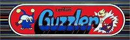 Arcade Cabinet Marquee for Guzzler.
