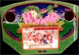 Arcade Cabinet Marquee for Hammer.