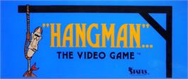 Arcade Cabinet Marquee for Hangman.