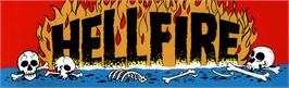 Arcade Cabinet Marquee for Hellfire.
