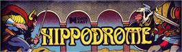 Arcade Cabinet Marquee for Hippodrome.