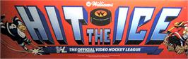 Arcade Cabinet Marquee for Hit the Ice.