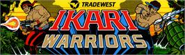 Arcade Cabinet Marquee for Ikari Warriors.