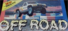 Arcade Cabinet Marquee for Ironman Ivan Stewart's Super Off-Road Track-Pak.