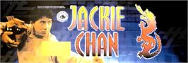 Arcade Cabinet Marquee for Jackie Chan - The Kung-Fu Master.