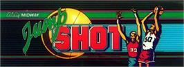 Arcade Cabinet Marquee for Jump Shot.
